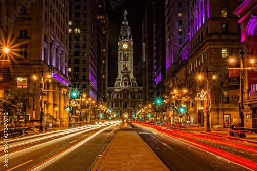 Fotografía Broad Street in Philadelphia Pennsylvania USA