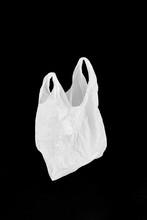 Plastic Bag With Black Backgro...