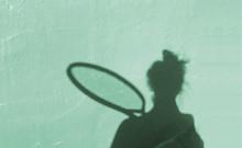 Tennis Shadow Play