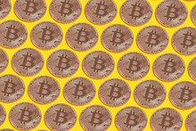Bitcoin Cryptocurrency Concept...