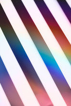 Iridescent Dark And Light Stripes Together