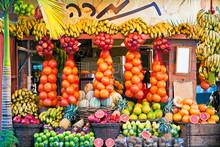 Middle East, Israel, Tel Aviv, Street Stall
