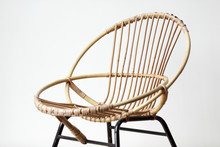 Vintage Sixties Rattan Chair
