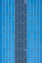 Minimalist Building Exterior In Abstraction
