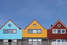 Colorful Dutch Houses