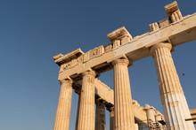 The Parthenon At The Acropolis...