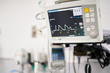 Intensive care unit machine monitoring patients