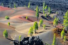 Painted Dunes In Lassen Volcan...