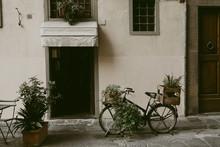 Entrance To An Italian Trattoria