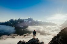 Anonymous Tourist On High Peak