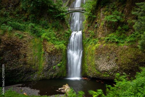 Fototapeta Multnomah Falls in Columbia River Gorge, Oregon, USA obraz