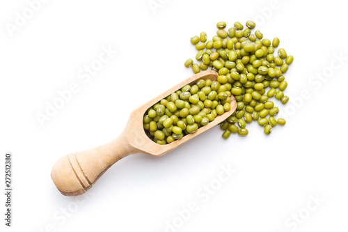 Photo sur Aluminium Montagne Green mung beans.