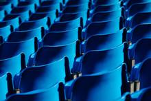 Bleachers In The Stadium