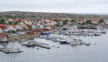 Marina And Village On The Rock...