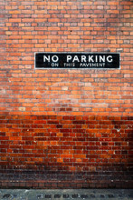Brick Wall In London