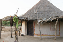 Traditional Local House In West India