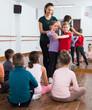 children dancing tango