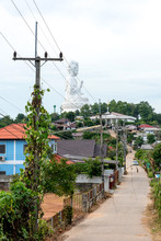 View Of Street In Oriental City