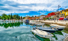 Hafen Novigrad, Istrien, Kroat...
