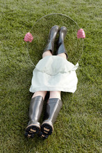 Anonymous Girl In Rubber Boots