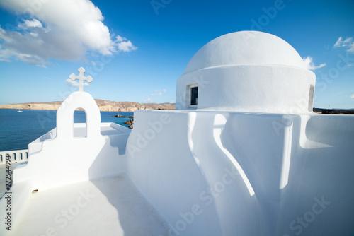 Foto auf AluDibond Santorini Building on the beautiful Mykonos