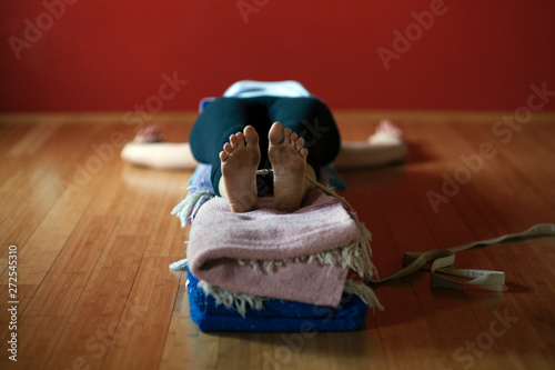 Foto Restorative Yoga Woman