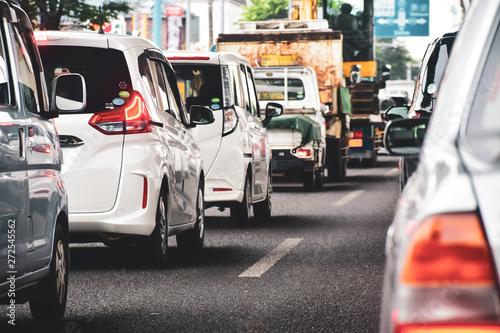 Obraz 渋滞 - fototapety do salonu