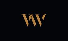 VW Logo Design Template Vector Illustration
