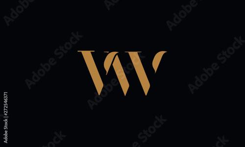Fotografie, Obraz VW logo design template vector illustration