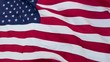 United States of America Flag waving in slow motion.
