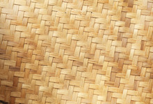 Native Thai Style Bamboo Background