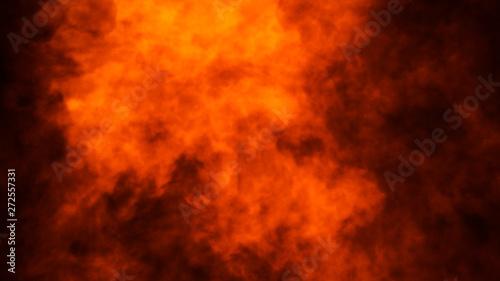Cuadros en Lienzo Texture of burn fire