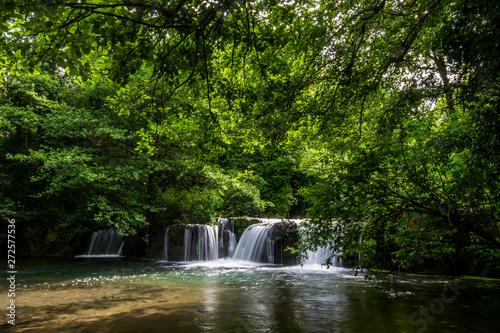obraz PCV Waterfalls of Monte Gelato in the Valle del Treja near Mazzano Romano, Lazio, Italy