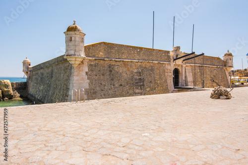 Medieval Forte de Bandeira in Lagos Portugal