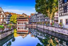 Strasbourg, Alsace, France. Tr...
