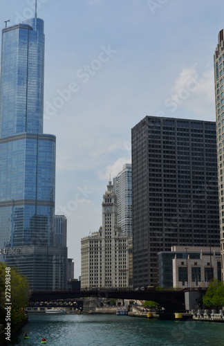 Foto op Plexiglas Panoramafoto s Chicago City