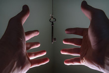 People Hands Reaching For Vint...