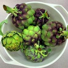 Bowl Of Freshly Picked Articho...