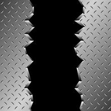 Broken Metal Background