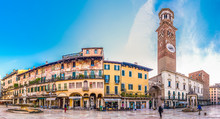Old Town Of Verona In Italy