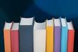 Leinwandbild Motiv Books collection  isolated on  background.