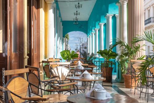 Santa Clara, Cuba, colonial style architecture