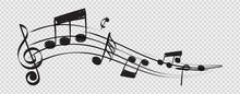 Musical Note. Staff Treble Cle...