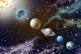 Fototapeta Kosmos - Planets of the solar system