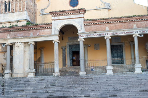 architecture detail of terracina town in lazio italy Fototapet