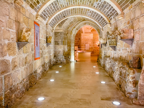 Photo  Entrance to the crypt of San Pedro de la Catedral