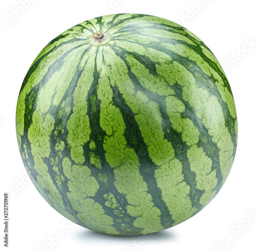 Watermelon isolated Clipping Path