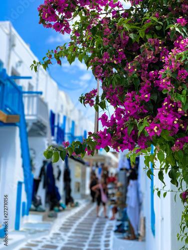 Fototapety, obrazy: Traumhafte Altstadt von Mykonos, Griechenland
