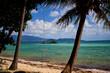 Swing at a tropical beach in Thailand