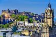 Leinwanddruck Bild - Edinburgh Castle in Edinburgh, Scotland